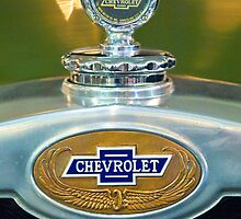 1928 Chevrolet 2 Door Coupe Hood Ornament by Jill Reger