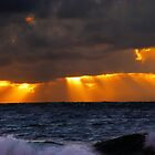 The Sun Lights The Sea by Hapatography