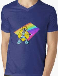 Star Butterfly Mens V-Neck T-Shirt