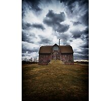 the devil in me said, go down to the shed.... Photographic Print
