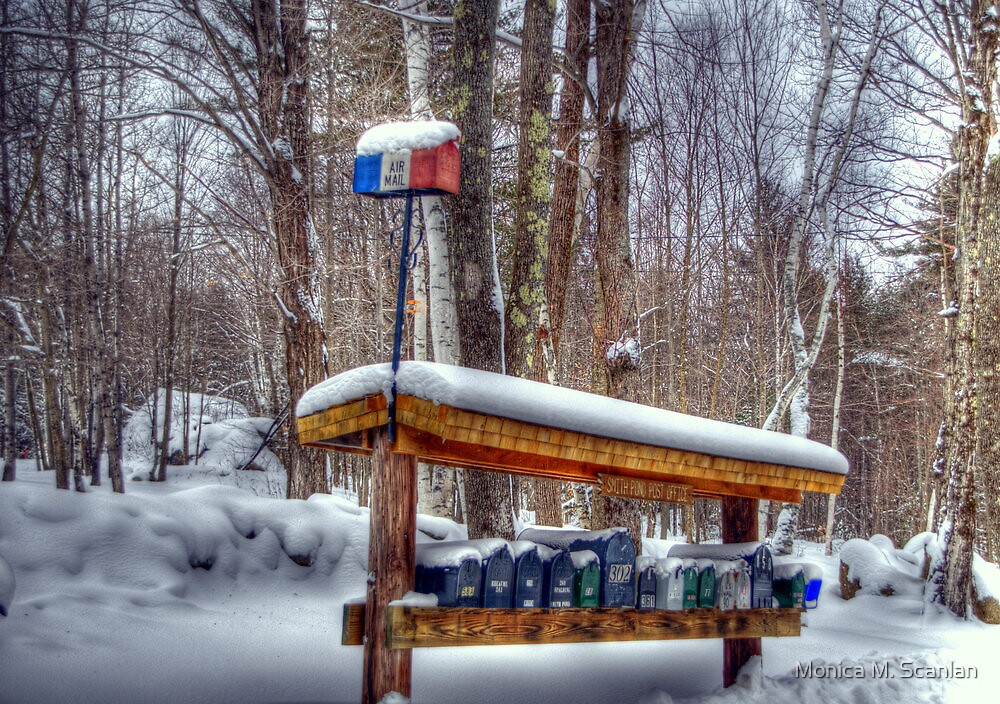 """Smith Pond """"Post Office"""" by Monica M. Scanlan"""