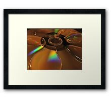 Pastel Rainbow Framed Print