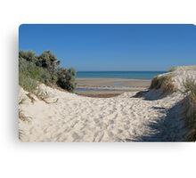 Dune Crossing Canvas Print