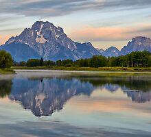 Mount Moran Sunrise by Teresa Zieba
