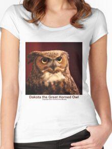 Dakota the Survivor Women's Fitted Scoop T-Shirt