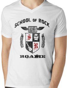 Rock Roadie Mens V-Neck T-Shirt