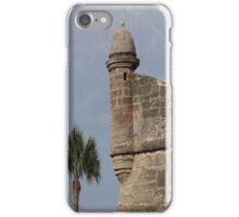 Corner Tower of Fort Castillo de San Marcos iPhone Case/Skin