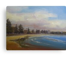 Cloudy day in Manly Canvas Print