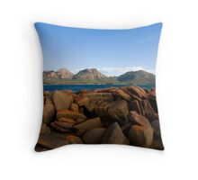 The Hazards  from Coles Bay Throw Pillow