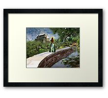 A View Like No Other Framed Print