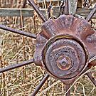 Wagon Wheel Hub by Keri Harrish