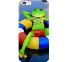 Floating Down Easy Street iPhone Case/Skin