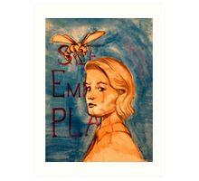 See Emily Play Art Print