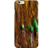 running green iPhone Case/Skin