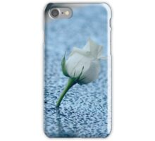September 11 Memorial South Pool - White Rose | New York City, New York iPhone Case/Skin