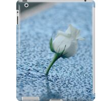 September 11 Memorial South Pool - White Rose | New York City, New York iPad Case/Skin