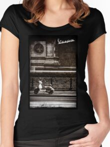 Vespa PX Women's Fitted Scoop T-Shirt