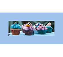 Little Cup Cakes Photographic Print