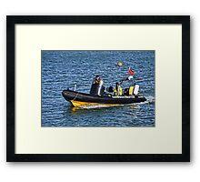 Harbour Master- Lyme Regis Dorset Framed Print