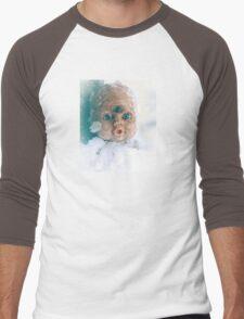Snow Doll Men's Baseball ¾ T-Shirt