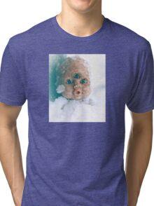 Snow Doll Tri-blend T-Shirt