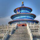 Buddist Temple by Thasan