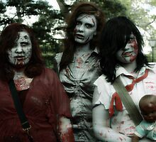 The zombie family by Karen Tregoning