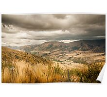 Crown Range Road Otago Poster