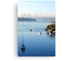 Sydney Harbour 3 Canvas Print