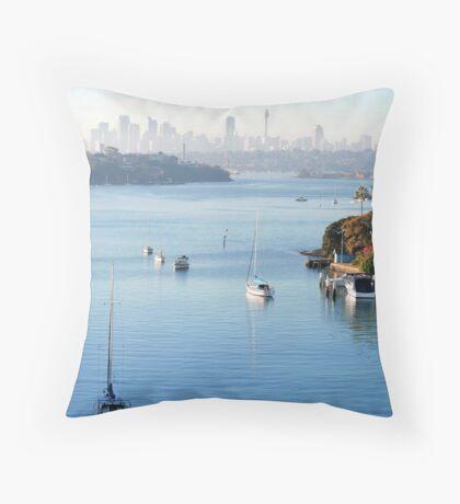Sydney Harbour 3 Throw Pillow