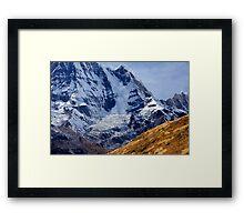 Avalanche III Framed Print