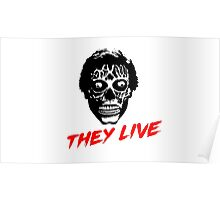 They Live - A film by John Carpeneter Poster