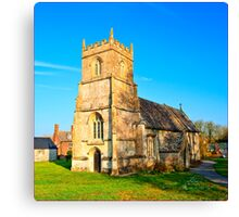Saint Katharine's Church (HDR) Canvas Print
