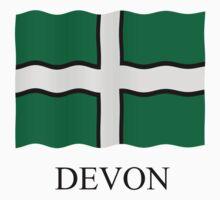 Devon flag Kids Tee