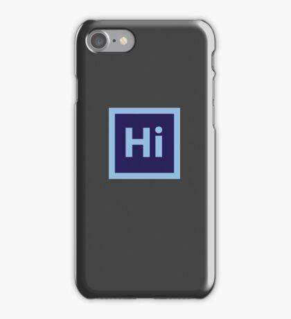 Hi. iPhone Case/Skin