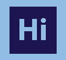 Hi. by pixelwolfie