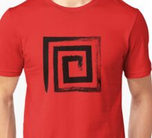 Spiral Square - Black Edition Unisex T-Shirt