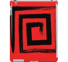 Spiral Square - Black Edition iPad Case/Skin