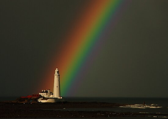 Rainbow at Sea by Harry Purves