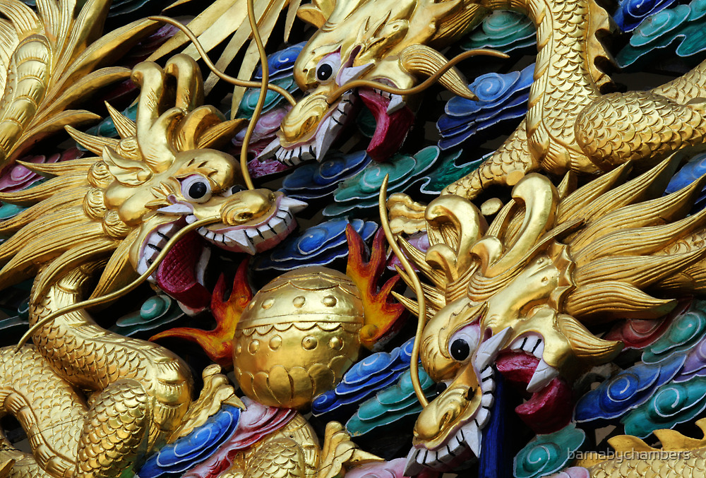 Fighting Dragons 3 by barnabychambers