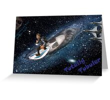 Bolt takes to space Greeting Card