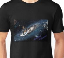 Bolt takes to space Unisex T-Shirt
