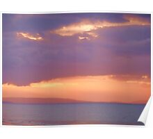 Northern Sunset Poster