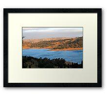 Wyangala Waters Landscape Framed Print
