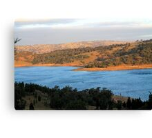 Wyangala Waters Landscape Canvas Print
