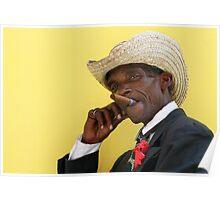 Havana cigar man. Poster