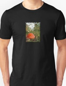 Round red toadstool with white spots Unisex T-Shirt