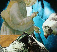 Patron saint of foul responsibility by gehlhausenn