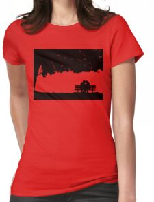 Amy + Rory Womens Fitted T-Shirt