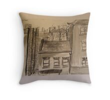 FAMOUS ROOFS OF LONDON UK 8 roseberry Throw Pillow